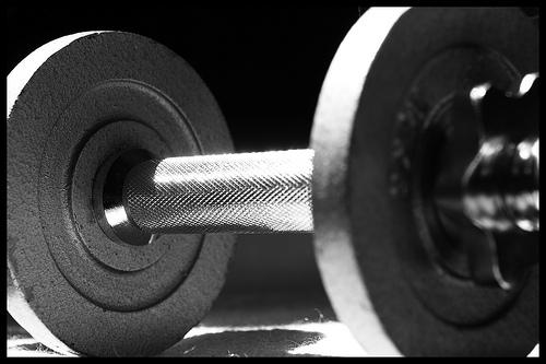 Súlyzós edzés otthon